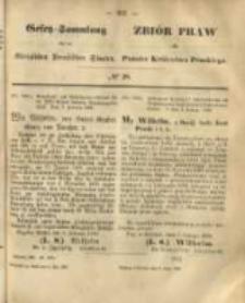 Gesetz-Sammlung für die Königlichen Preussischen Staaten. 1868.05.02 No28