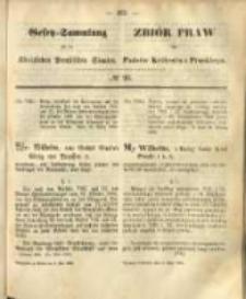 Gesetz-Sammlung für die Königlichen Preussischen Staaten. 1868.05.05 No29