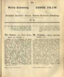 Gesetz-Sammlung für die Königlichen Preussischen Staaten. 1868.06.29 No44