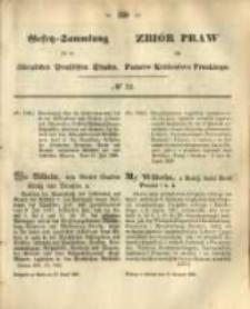 Gesetz-Sammlung für die Königlichen Preussischen Staaten. 1868.08.10 No52