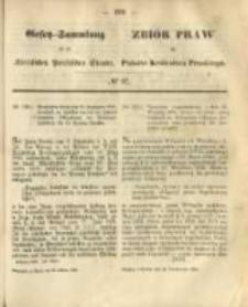 Gesetz-Sammlung für die Königlichen Preussischen Staaten. 1868.10.24 No67