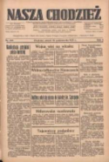 Nasza Chodzież: dziennik poświęcony obronie interesów narodowych na zachodnich ziemiach Polski 1933.10.10 R.4 Nr233