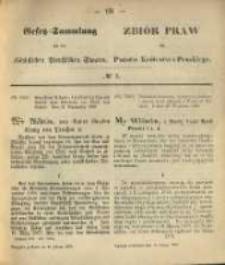 Gesetz-Sammlung für die Königlichen Preussischen Staaten. 1870.02.14 No5