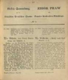 Gesetz-Sammlung für die Königlichen Preussischen Staaten. 1870.03.04 No8