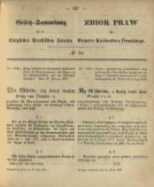 Gesetz-Sammlung für die Königlichen Preussischen Staaten. 1870.03.11 No10