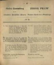 Gesetz-Sammlung für die Königlichen Preussischen Staaten. 1870.04.28 No23