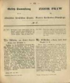 Gesetz-Sammlung für die Königlichen Preussischen Staaten. 1870.06.09 No27