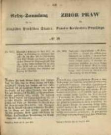 Gesetz-Sammlung für die Königlichen Preussischen Staaten. 1870.06.18 No29