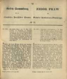 Gesetz-Sammlung für die Königlichen Preussischen Staaten. 1870.06.30 No31