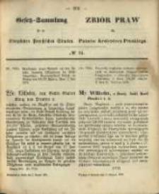 Gesetz-Sammlung für die Königlichen Preussischen Staaten. 1870.08.02 No34