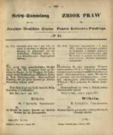 Gesetz-Sammlung für die Königlichen Preussischen Staaten. 1870.08.02 No35