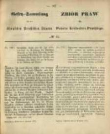 Gesetz-Sammlung für die Königlichen Preussischen Staaten. 1870.09.02 No41