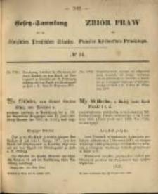 Gesetz-Sammlung für die Königlichen Preussischen Staaten. 1870.10.22 No44