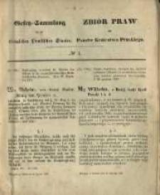 Gesetz-Sammlung für die Königlichen Preussischen Staaten. 1871.01.09 No1