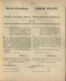 Gesetz-Sammlung für die Königlichen Preussischen Staaten. 1871.07.23 No20
