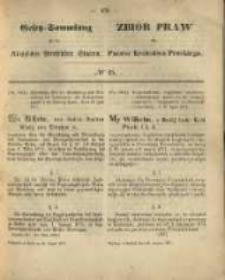 Gesetz-Sammlung für die Königlichen Preussischen Staaten. 1871.08.25 No25