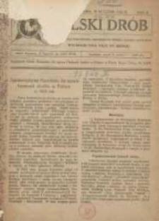 Polski Drób: czasopismo dla hodowców i miłośników drobiu, gołębi i królików 1923.01 R.2 Nr1
