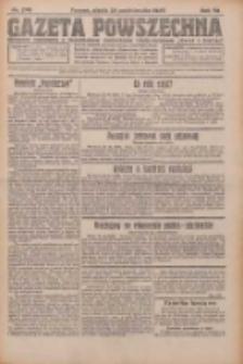 Gazeta Powszechna 1926.10.29 R.7 Nr249