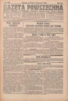 Gazeta Powszechna 1926.11.07 R.7 Nr256