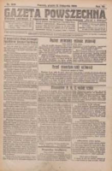 Gazeta Powszechna 1926.11.12 R.7 Nr260