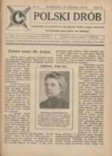 Polski Drób: czasopismo dla hodowców i miłośników drobiu, gołębi i królików 1923.06.30 R.2 Nr12