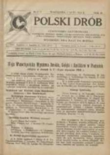 Polski Drób: czasopismo ilustrowane poświęcone hodowli drobiu, gołębi rasowych i pocztowych, ptactwa ozdobnego i śpiewającego, królików, psów i kotów 1924.02.01 R.3 Nr2/3