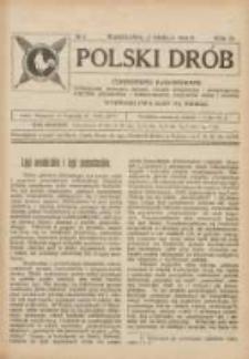 Polski Drób: czasopismo ilustrowane poświęcone hodowli drobiu, gołębi rasowych i pocztowych, ptactwa ozdobnego i śpiewającego, królików, psów i kotów 1924.03.15 R.3 Nr6