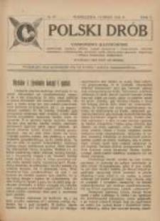 Polski Drób: czasopismo ilustrowane poświęcone hodowli drobiu, gołębi rasowych i pocztowych, ptactwa ozdobnego i śpiewającego, królikow, psów, kotów oraz sprawom przemysłu i handlu produktami drobiowemi 1926.05.15 R.5 Nr10