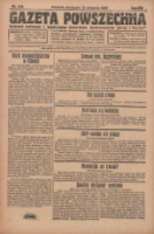 Gazeta Powszechna 1927.08.21 R.8 Nr190