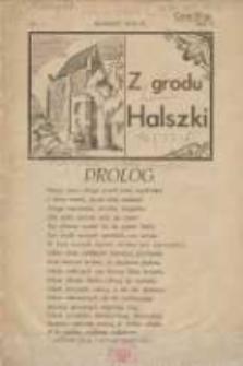 Z Grodu Halszki: pisemko młodzieży gimnazjalnej w Szamotułach 1931 marzec R.1 Nr1