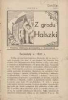 Z Grodu Halszki: pisemko młodzieży gimnazjalnej w Szamotułach 1931 maj R.1 Nr3