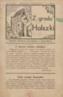Z Grodu Halszki: pisemko młodzieży gimnazjalnej w Szamotułach 1931 wrzesień/październik R.2 Nr1/2