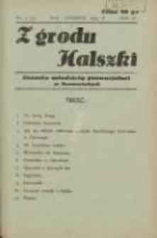 Z Grodu Halszki: pisemko młodzieży gimnazjalnej w Szamotułach 1933 maj/czerwiec R.4 Nr3