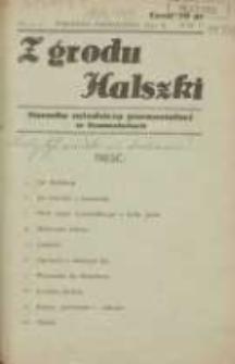Z Grodu Halszki: pisemko młodzieży gimnazjalnej w Szamotułach 1933 wrzesień/pażdziernik R.5 Nr4