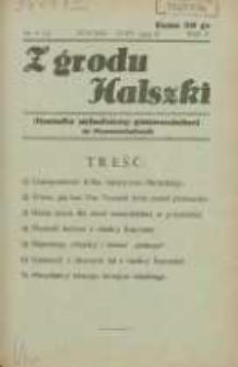 Z Grodu Halszki: pisemko młodzieży gimnazjalnej w Szamotułach 1934 styczeń/luty R.5 Nr6
