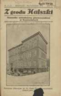 Z Grodu Halszki: pisemko młodzieży gimnazjalnej w Szamotułach 1934 wrzesień/pażdziernik R.6 Nr8