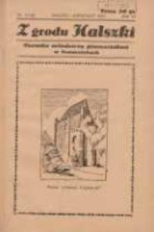 Z Grodu Halszki: pisemko młodzieży gimnazjalnej w Szamotułach 1935 marzrzec/kwiecień R.6 Nr11