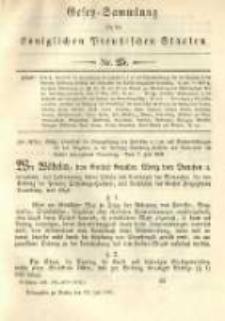 Gesetz-Sammlung für die Königlichen Preussischen Staaten. 1891.07.31 No25
