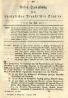Gesetz-Sammlung für die Königlichen Preussischen Staaten. 1891.12.01 No34