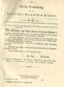 Gesetz-Sammlung für die Königlichen Preussischen Staaten. 1891.12.30 No37
