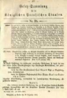 Gesetz-Sammlung für die Königlichen Preussischen Staaten. 1891.12.30 No38