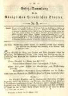 Gesetz-Sammlung für die Königlichen Preussischen Staaten. 1892.02.23 No3
