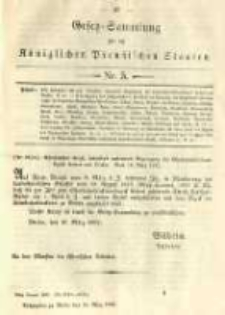 Gesetz-Sammlung für die Königlichen Preussischen Staaten. 1892.03.24 No5