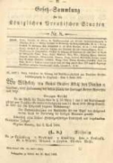 Gesetz-Sammlung für die Königlichen Preussischen Staaten. 1894.04.25 No8