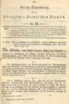 Gesetz-Sammlung für die Königlichen Preussischen Staaten. 1894.07.02 No21