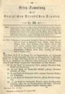 Gesetz-Sammlung für die Königlichen Preussischen Staaten. 1894.12.27 No33