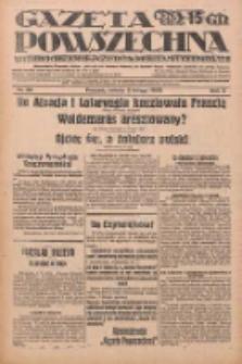 Gazeta Powszechna: wychodzi codziennie z czterema dodatkami tygodniowemi 1929.02.02 R.10 Nr28