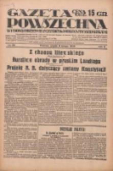 Gazeta Powszechna: wychodzi codziennie z czterema dodatkami tygodniowemi 1929.02.08 R.10 Nr32