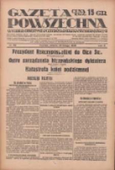 Gazeta Powszechna: wychodzi codziennie z czterema dodatkami tygodniowemi 1929.02.23 R.10 Nr45