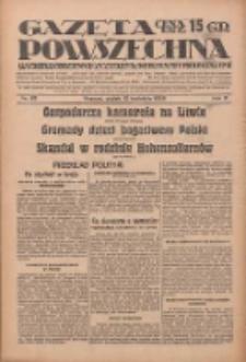 Gazeta Powszechna: wychodzi codziennie z czterema dodatkami tygodniowemi 1929.04.12 R.10 Nr85